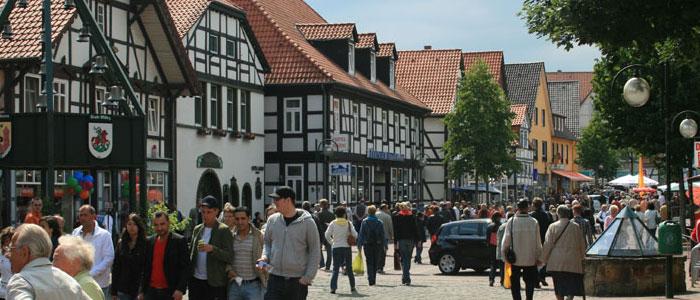 Shopping Innenstadt©Stadt Springe