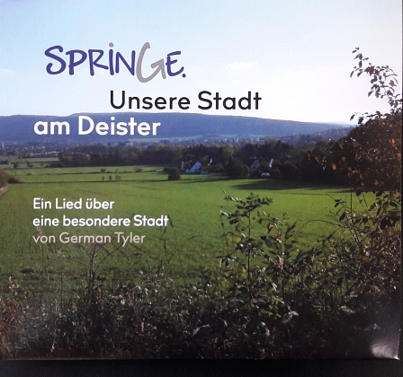 CD - Cover - Springe Lied © Buschbrand