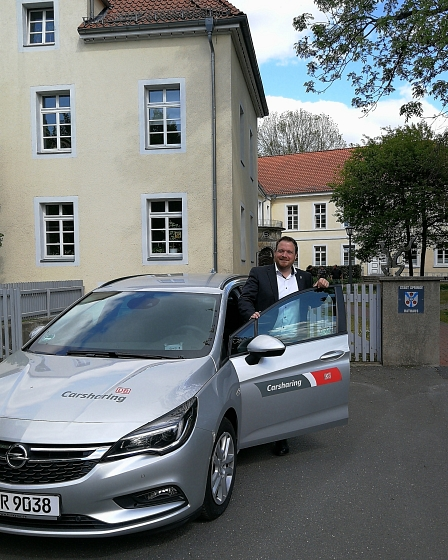 Flinkster Car Sharing © Stadt Springe
