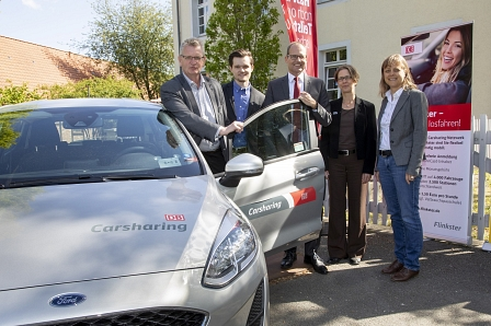 Flinkster Car Sharing © Region Hannover