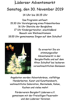 Lüderser Adventsmarkt